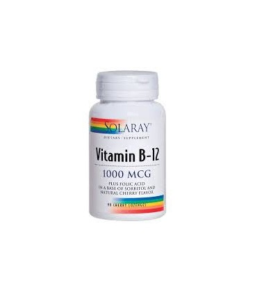 VITAMINA B12 1000mg SOLARAY