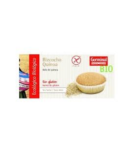BIZCOCHO QUINOA s/gluten 4x45gr. germinal