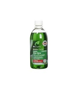 ENJUAGE BUCAL ALOE 500ml. dr.organic