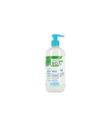 LECHE DESMAQUILLANTE ALOE 500ml. so´bio etic