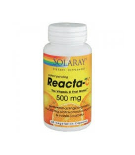 REACTA C 500mg. 60comp. solaray