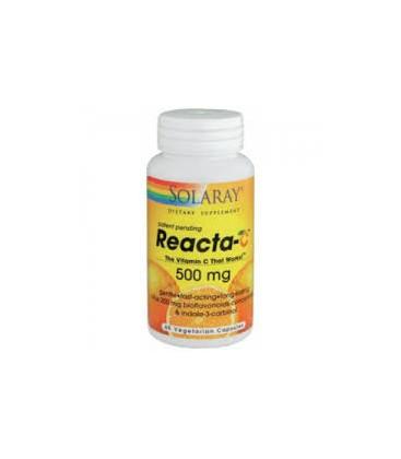 REACTA C 500mg. 60comp. solaray