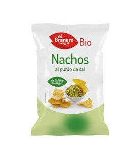 NACHOS PUNTO de SAL 125gr. biogran