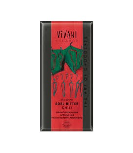 CHOCOLATE 70% CACAO/CHILI 100gr. vivani