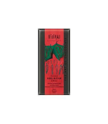 CHOCOLATE 70% CACAO/CHILI 100gr. vivani