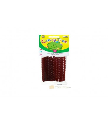TRENZAS CEREZA 75gr. candy tree