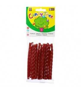 TRENZAS FRESA 75gr. candy tree