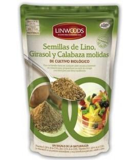SEMILLAS LINO GIRASOL CALABAZA 200gr. linwoods