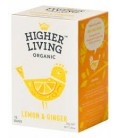 INFUSION JENGIBRE Y LIMON 20 ud higher living