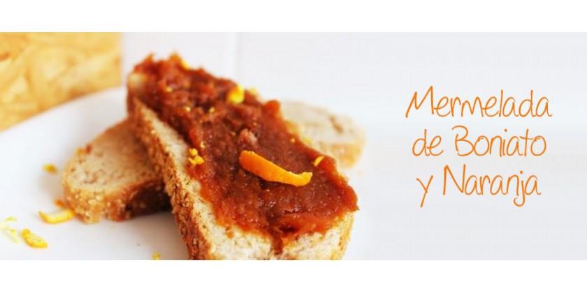 Mermelada de Boniato y Naranja