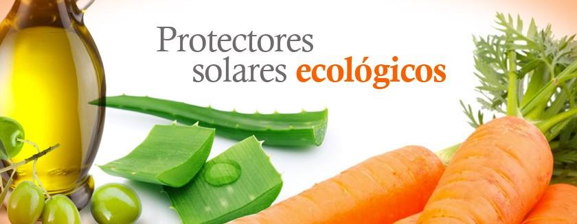 Protectores solares ecológicos