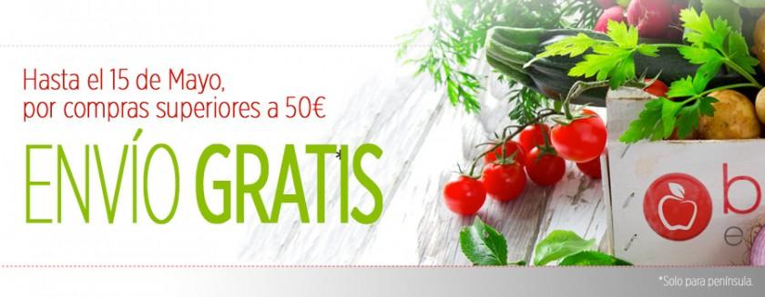 ¡Regalamos los gastos de envío para compras superiores a 50€!