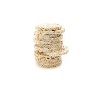 tortitas de cereales hinchados